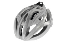Cratoni C-Bolt Casque argent-blanc brillant